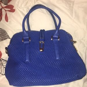 Cobalt blue tote